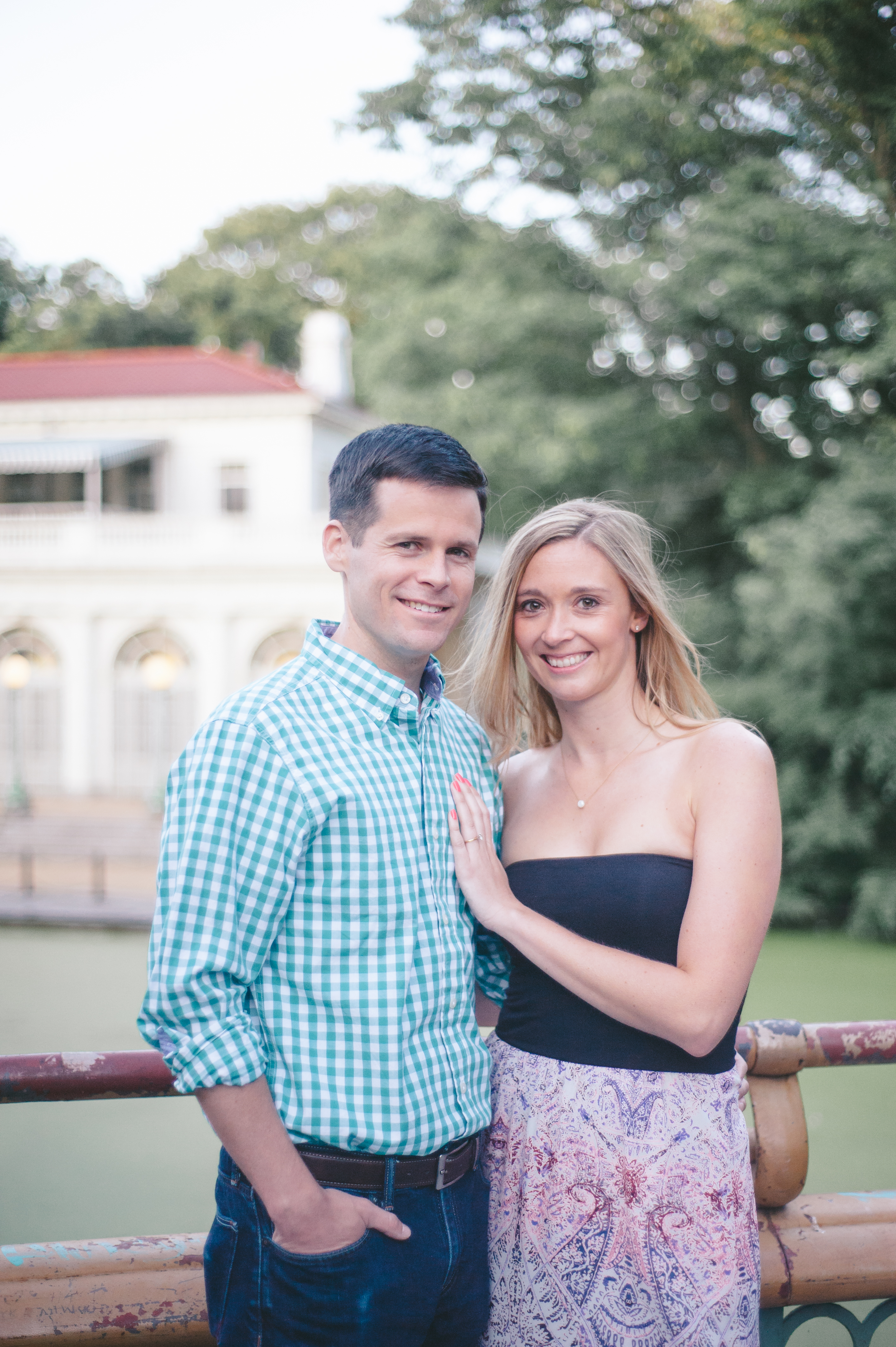 prospect park boathouse engagement